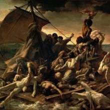 Raft of the Medusa by Theodore Gericault