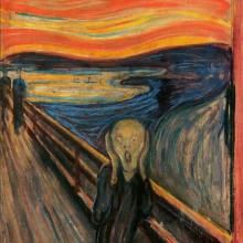 The Scream by Evard Munch