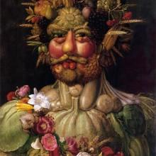 Vertumnus c. 1590 Giuseppe Arcimboldo