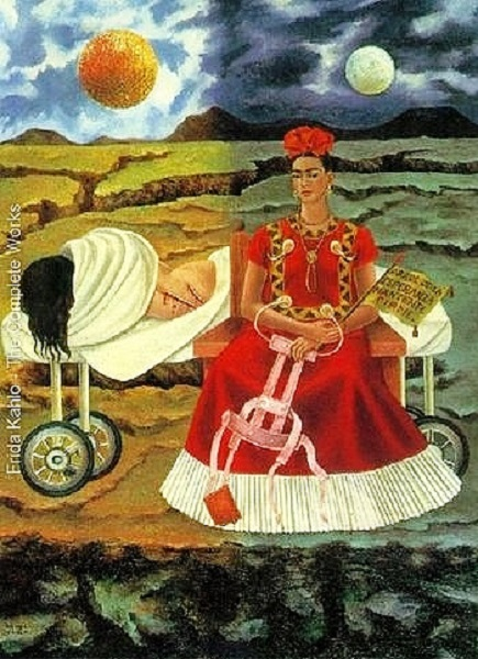 Tree Of Hope by Frida Kahlo