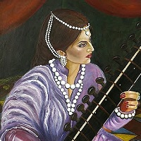 The Sitar Player by Roopa Dudley