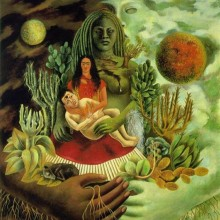 Nurturing Earth Mother by Frida Kahlo