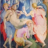 Descent from the Cross by Jacopo Pontormo