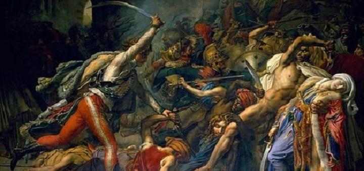 Revolt of Cairo by Anne-Louis Girodet