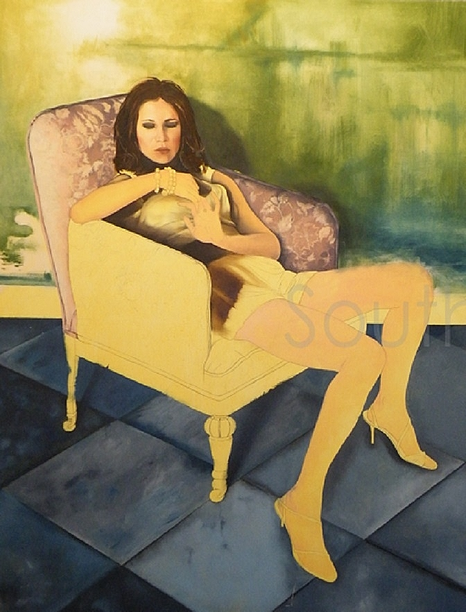 Woman In Chair by Suzy Southerton