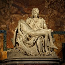 Pieta 1498-99 Michelangelo