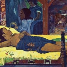 Birth of Christ by Paul Gauguin