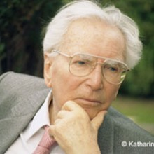 Viktor Frankl 1905 – 1997 was an Austrian neurologist and psychiatrist as well as the founder of logo therapy, which is a form of existential analysis. His best selling book Man's Search For Meaning chronicles his experiences as a concentration camp inmate.