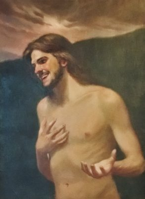 The Laughing Christ by Bo Bartlett