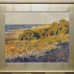 Pamlico Breeze with Silver Frame